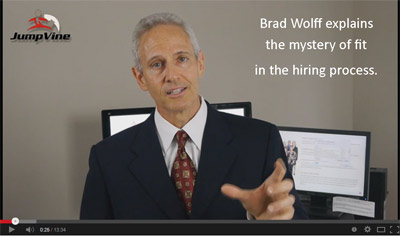 Brad Wolff explains the myster of fit in the hiring process - graphic